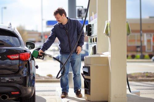 Gas Station pumps 10