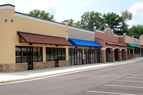 Strip Mall Frontage 1-1